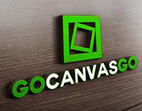GoCanvasGo logo+main page design