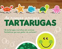 Livro: As nossas amigas Tartarugas - Cabo Verde