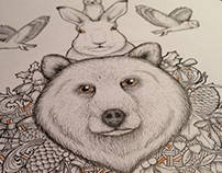 'The Bear And The Hare' Inspired Illustration