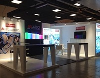 Booth design | Biosystems | JIB 2013 | Paris