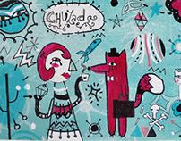 """CHULADA""(mural)"