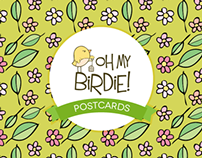 Oh my Birdie! Postcards