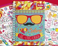 Ilustraciones Cuadernos SCRIBE® 2014