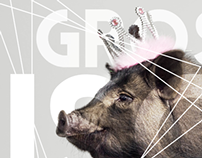 PERSO - Pig Kiss - Graphic Design