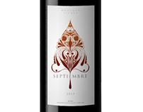 Septiembre Wine Label