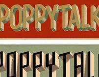 Poppytalk Blog logo variations