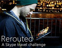 Rerouted: A Skype Travel Challenge