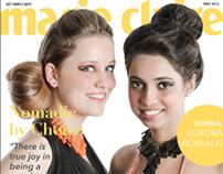 Marie Claire Mock Magazine