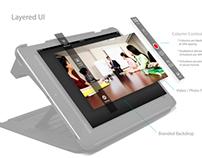 MirrorCase for iPad iOS 7 App UI/UX Redesign