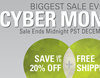 Cyber Monday Sale 2013
