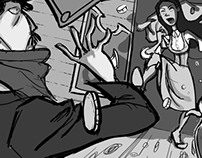 """""""The Robbery"""" STORYBOARDS"""