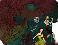 """The Phantom of the Underworld"" CHARACTER DESIGNS"