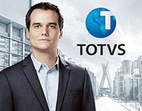 Totvs anúncio para iPad