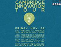 Cambridge Innovation Tour Flyer