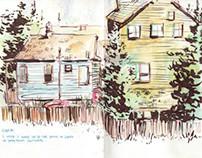 Sketchbook: Travels in Alaska 2013
