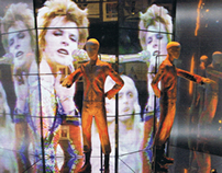 David Bowie Is expo Victoria Albert Museum London 2013