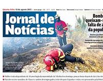 Primeiras páginas - Jornal Notícias