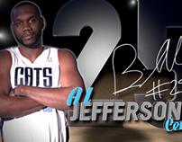 Charlotte Bobcats Big Screen Headshots