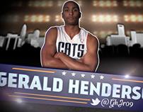 Charlotte Bobcats Wednesday Night Basketball Headshots