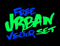 Urban Vector Set (Free)
