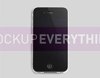 Free iPhone Mockup Template