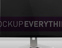 PC Monitor Mockup Template