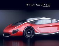 TRICAR CONCEPT CAR INVISIUM