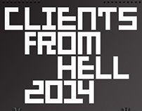 2014 Calendar, Clients from Hell