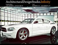 Automotive White Sensation/Studio and Exterior Shots.