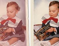 Photo Restoration, Random Series