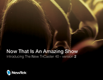 NewTek TriCaster Campaign Ads