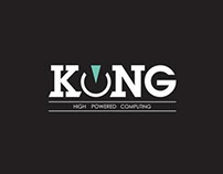 Logo concept for Kong Computers and Hardware