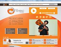 Site Nova Tambaú FM - Versão 1