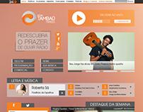 Site Nova Tambaú FM - Versão 2