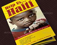 Charity Organization Brochure Template