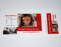 Library Card & Pull Up Banner