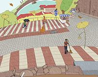 Illustrating Istanbul: Kadikoy