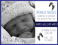 Invitations & Announcement Cards