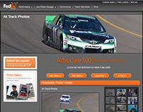 FedEx Racing Responsive UI
