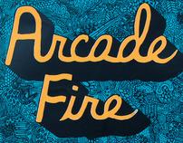 Arcade Fire Show Poster