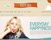 kid's sea