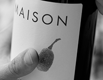 Maison Wine Label