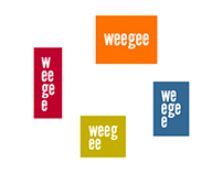 The box is alive. Weegee -logo for exhibition centre