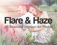 Flare & Haze: 30 Overlays for Photos