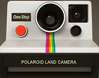 Polaroid Land Camera One Step