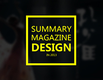 Magazine Design in 2013