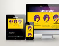 Responsive website - Makelight