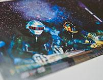 "DISEÑO | Daft Punk ""Discovery"" CVG I - UNR"