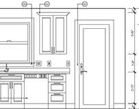 Kitchen design - AutoCAD