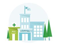 Vidéo explicative - milieu médical